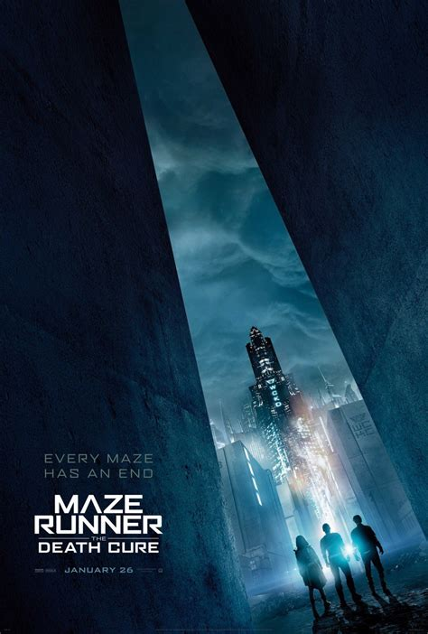 jadwal tayang film maze runner 3 the maze runner 3 the death cure movie poster teaser