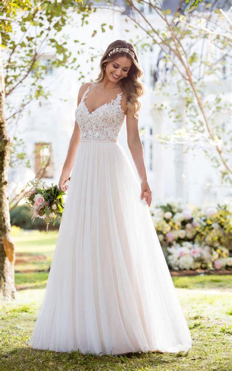 boho wedding dresses soft and boho wedding dress stella york
