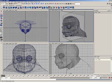sketchup layout viewport dave k s poly head modeling tutorial page 4