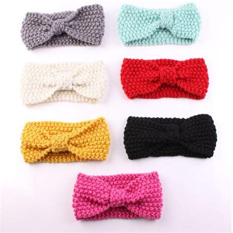 pattern for infant headbands crochet baby headband with bow pattern crochet and knit
