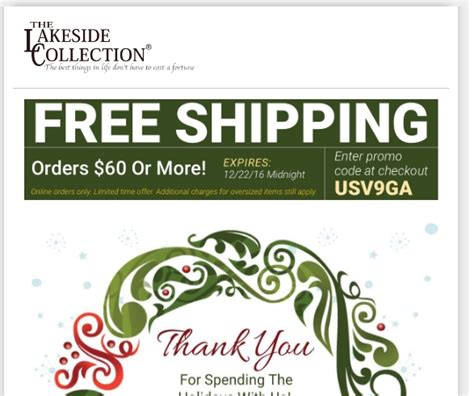 Lakeside Collection Coupons Free Shipping 2018 Free | 5 off lakeside collection promo code lakeside autos post