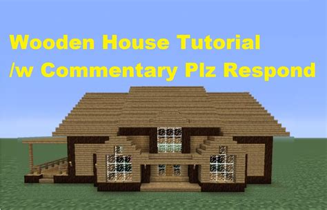 minecraft 360 how to build a wooden house house number