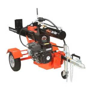 home depot log splitter ariens 211 cc 34 ton gas log splitter