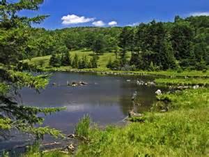 panoramio photo of spruce knob lake