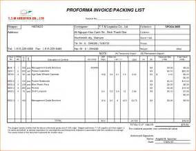 commercial packing list template 8 sle packing list bookletemplate org