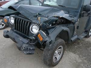 Wrecked Jeep Wrangler For Sale Wrecked Jeep Wranglers For Sale Indiana