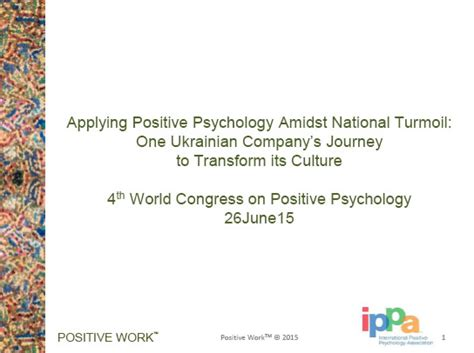 positive psychology for your s journey the way to true and lasting happiness books international positive psychology association ips 4 2