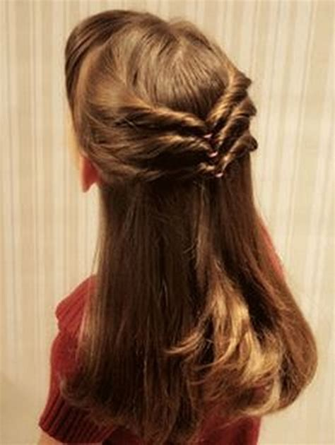 super cute hair cuts for long hair and 8 year old girls super easy hairstyles for long hair