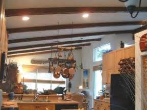 An easy diy home project installing faux wood decorative beams
