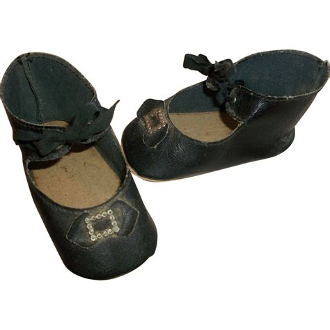 great shoes great pair of early vintage doll shoes from