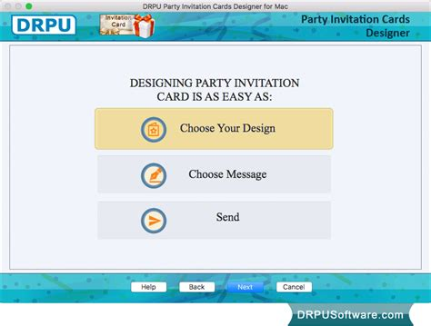 invitation design programs for mac freeware party invitation card maker software for mac by