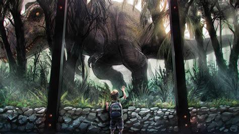 wallpaper jurassic world dinosaurs  film boy