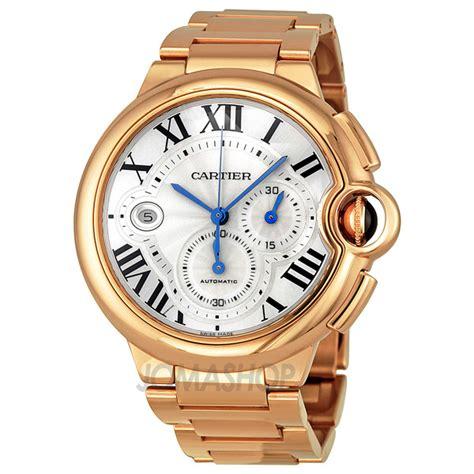 cartier ballon bleu 18kt gold chronograph s