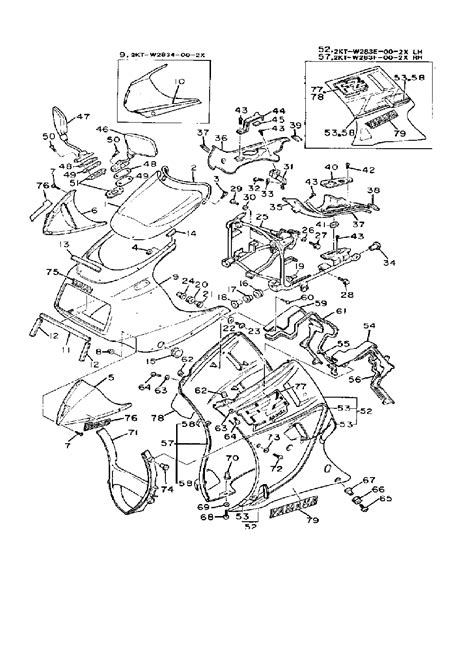 yamaha fz 750 specifications wiring diagrams wiring