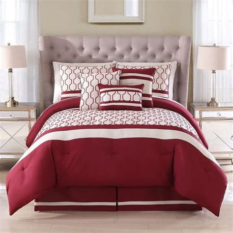 the brick king size bedroom sets alto embroidered 7 piece comforter set in brick 97 cad