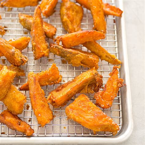 Americas Test Kitchen Fries by Thick Cut Sweet Potato Fries America S Test Kitchen