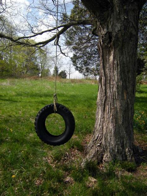 tire swing without a tree 16 tire hacks you have to see to believe