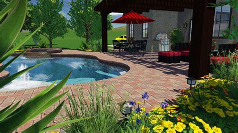 Landscape Design Software Vizterra 3d Pool And Landscaping Design Software Features Vip3d