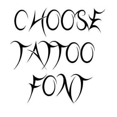 tattoo fonts preview tribal fonts tribal font design templates fonts tribal