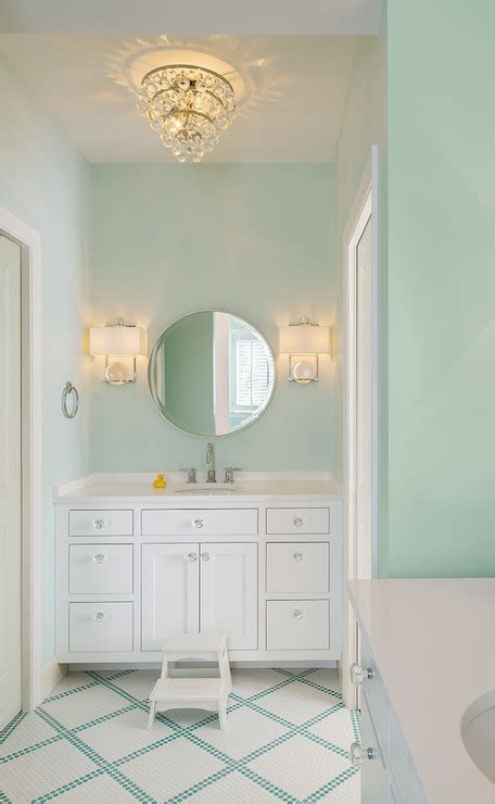 mint green bathrooms transitional bathroom moore