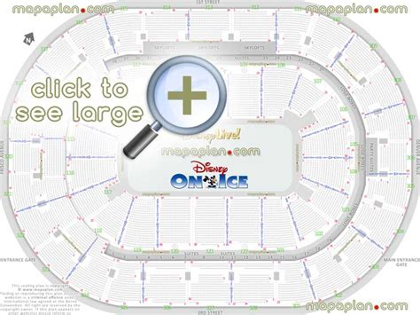 bok center seat row numbers detailed seating chart tulsa mapaplancom
