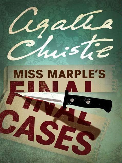 libro miss marples final cases miss marple s final cases ebook