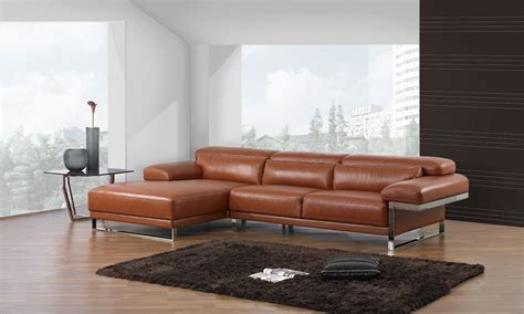 Luxury Leather Sofas Style Brown Luxury Leather Sofa Bed With Adjustable Headrest 14 With Luxury Brown Leather Sofas