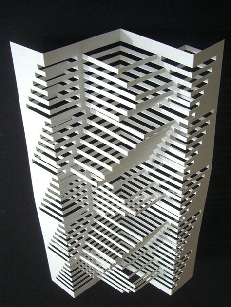 Paper Folding And Cutting - 17 best ideas about origami architecture on