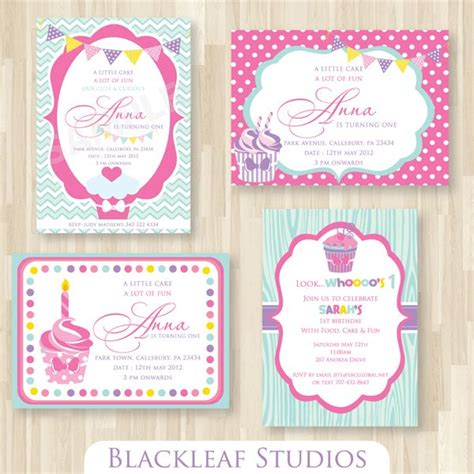cupcake thank you card template these adorable cupcake themed invitation templates