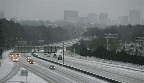 snow in south image ice and snow cover interstate 26 in columbia s c