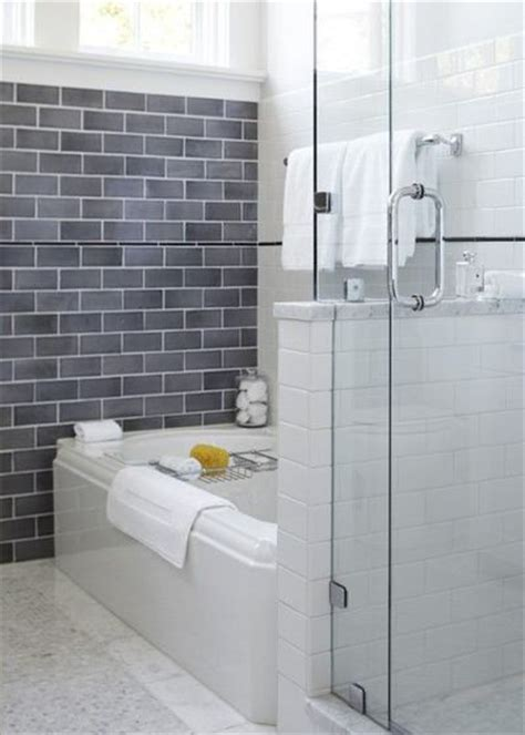tub view glass shower subway tile bath ideas juxtapost