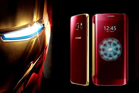 Samsung S6 Marvel Samsung Set To Marvel Its Global Fans With New Iron