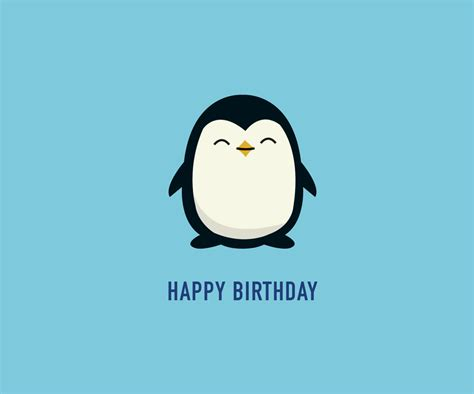 Penguin Birthday Cards Penguin Birthday Card Gangcraft Net
