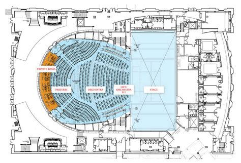 detroit opera house floor plan opera house floor plan numberedtype