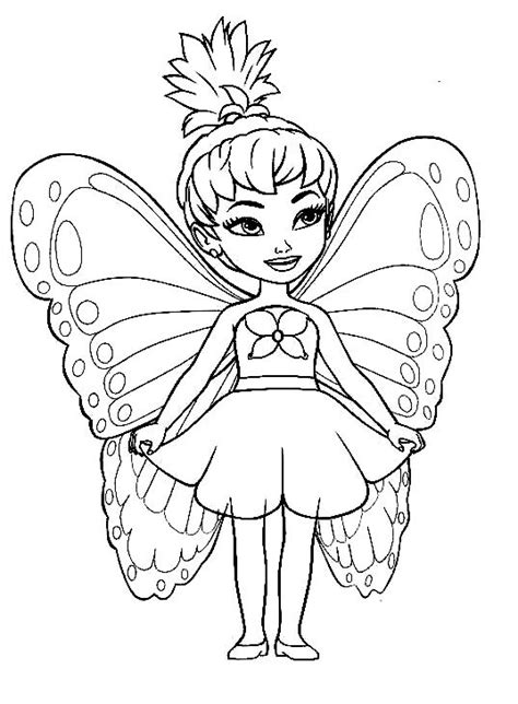 wood fairy coloring page cute fairy coloring pages for girls pinterest fairy