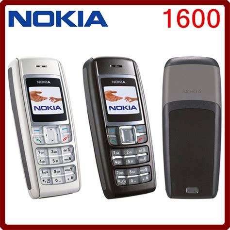 1600 original nokia 1600 cell phone dual band gsm unlocked phone gsm 900 1800 free shipping in