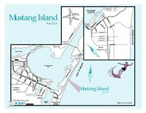 Texas State Parking Map by Mustang Island Texas State Park Map Mustang Island Texas