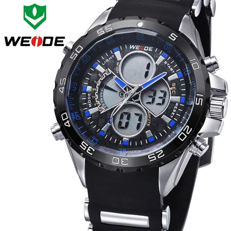 weide watches luxury brand quartz steel diver