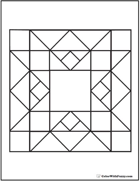 coloring pages quilt patterns pattern coloring pages customize pdf printables
