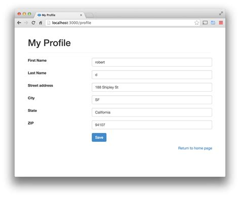 design form bootstrap online 10 best images of bootstrap edit user profile page