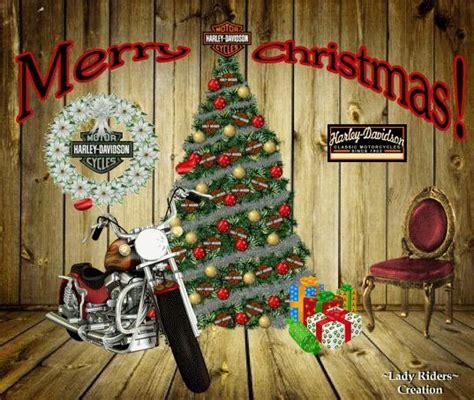 merry christmas harley davidson wallpaper