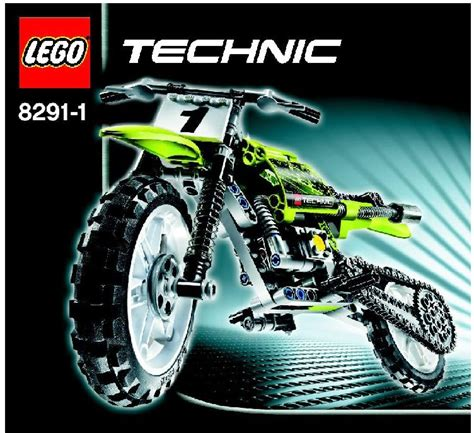lego technic motocross bike lego dirt bike 8291 technic