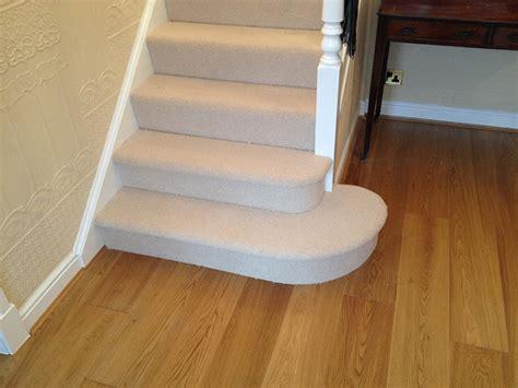 Laminate Flooring Around Stairs by Laminate Flooring Carpeted Stairs Habitat Stair Carpet And Hallway