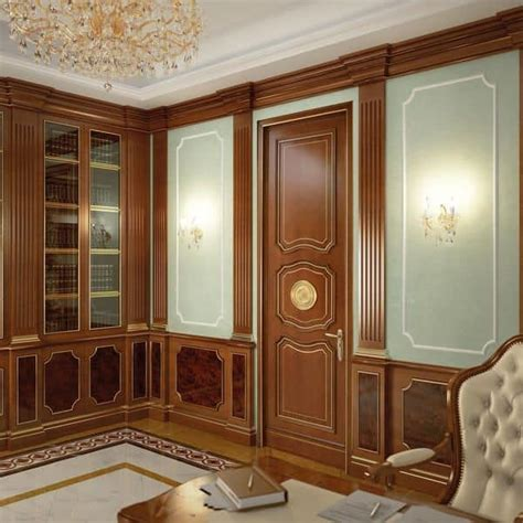 wood paneling for hotels and villas ideal matched wuth