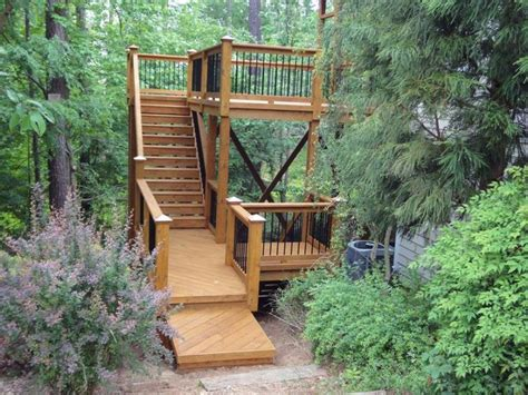 Wood Outdoor Stairs Design 52 Best Images About Decorative Exterior Tile Accents For House Designs On House
