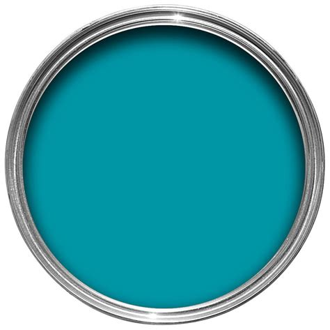 B And Q Touch L by B Q Blue Silk Emulsion Paint 2 5l Departments Diy At B Q