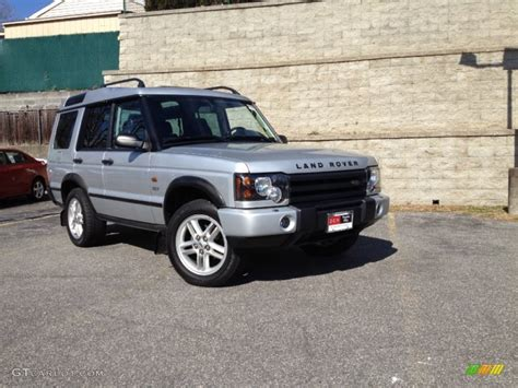 silver land rover discovery 2003 zambezi silver land rover discovery se7 61288649