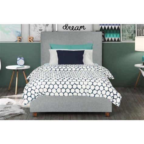 light grey upholstered bed dhp light grey upholstered bed free