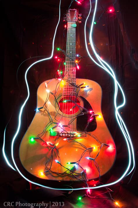 christmas lights and music christmas lights guitar www pixshark com images