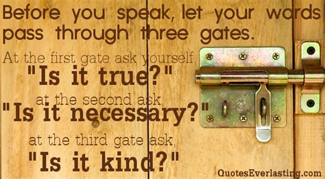 The Gate Of Your quotes about your word quotesgram